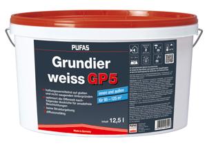 Pufas Grundierweiss GP 5