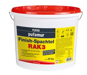Pufas pufamur Finish-Spachtel RAK 3