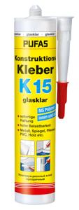 Pufas Konstruktionskleber K15