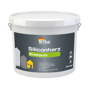 M-Plus Siliconharz Kratzputz