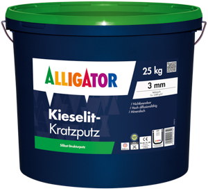 Alligator Kieselit Kratzputz
