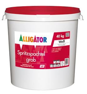 Alligator Spritzspachtel Hobbock