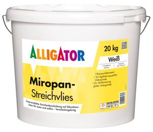 Alligator Miropan Streichvlies