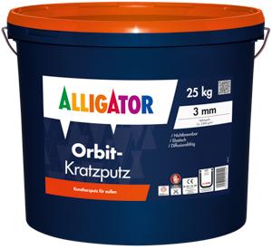 Alligator Orbit Kratzputz