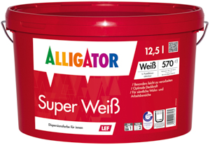 Alligator Super Weiß LEF