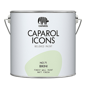 FINEST WALL PAINT MATT FINISH NO 71 BIKINI 2,5L