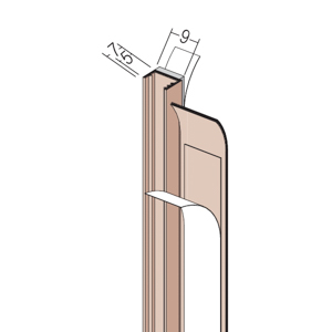 Protektor Laibungsprofil 9 mm 37104