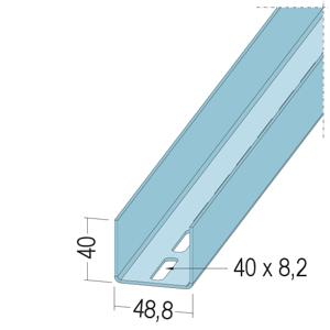 Protektor UA-Profil 50/40/2,0 5129